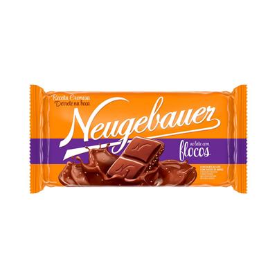 Chocolate com flocos 90g Neugebauer  UN
