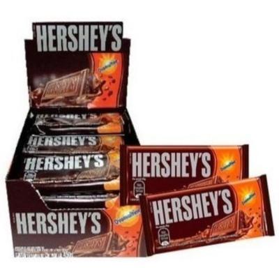 Chocolate com ovomaltine 16 unidades de 20g Hershey's caixa CX