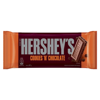Chocolate cookies' n' chocolate 87g Hershey's  UN