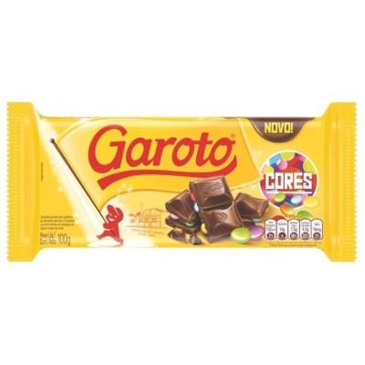 Chocolate cores 100g Garoto  UN