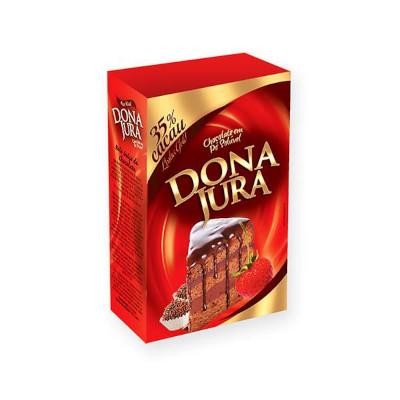 Chocolate em pó 35% cacau 200g Dona Jura pacote PCT