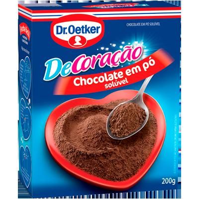 Chocolate em pó  200g Dr. Oetker pacote UN