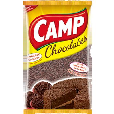 Chocolate Granulado crocante 1,01kg Camp pacote PCT