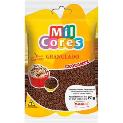 Chocolate Granulado crocante 150g Mavalerio pacote PCT