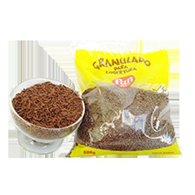 Chocolate Granulado macio 500g Pan pacote PCT