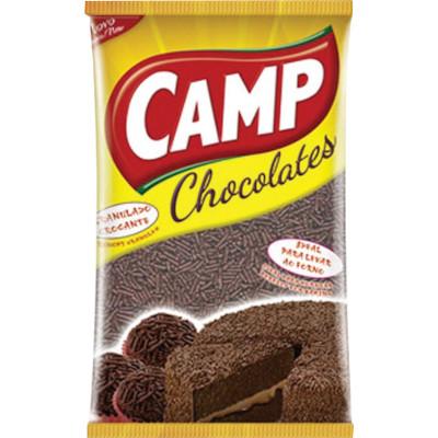 Chocolate Granulado  130g Camp pacote PCT