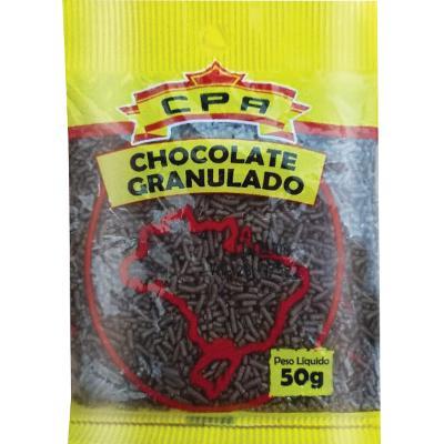 Chocolate Granulado   50g  CPA pacote PCT