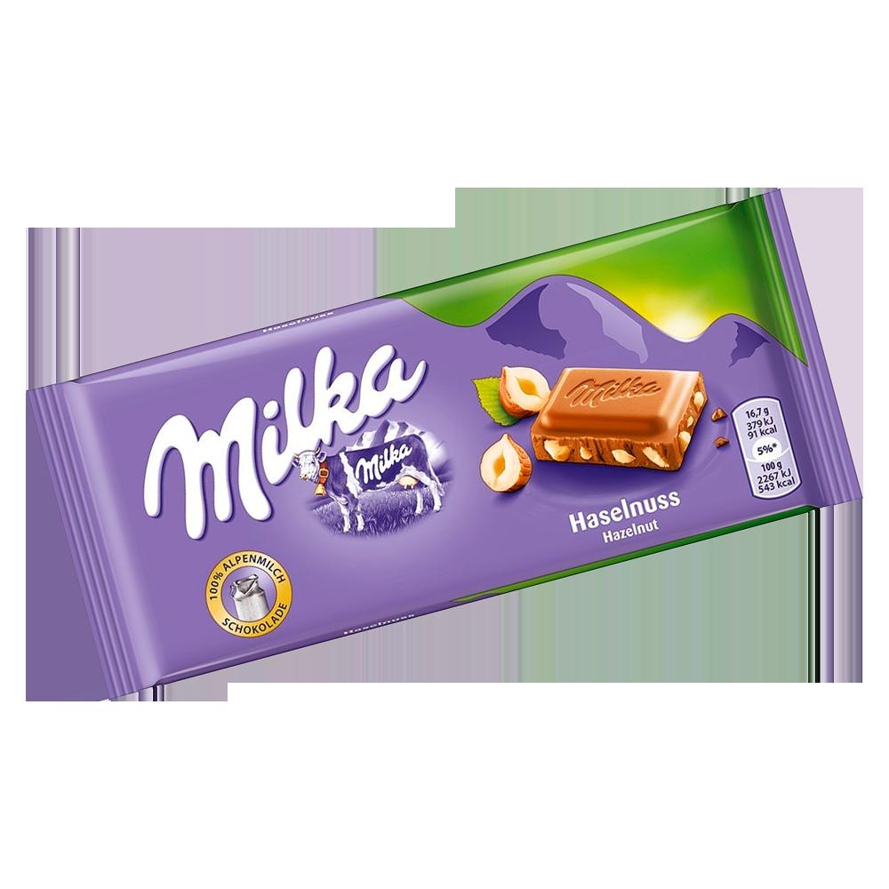 Chocolate Hazelnuts 100g Milka  UN