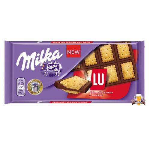 Chocolate Lu 87g Milka  UN