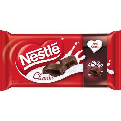 Chocolate meio amargo 90g Nestlé/Classic  UN