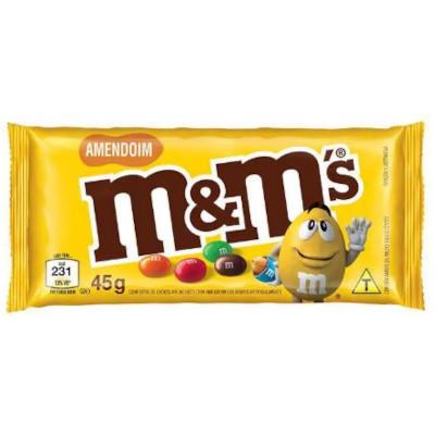 Chocolate M&M's amendoim 45g M&M's  UN