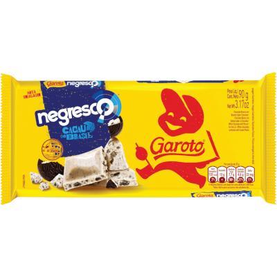 Chocolate negresco 90g Garoto  UN