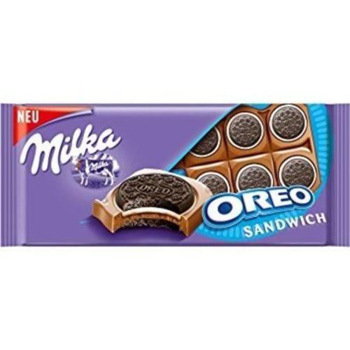 Chocolate oreo sandwich 92g Milka  UN