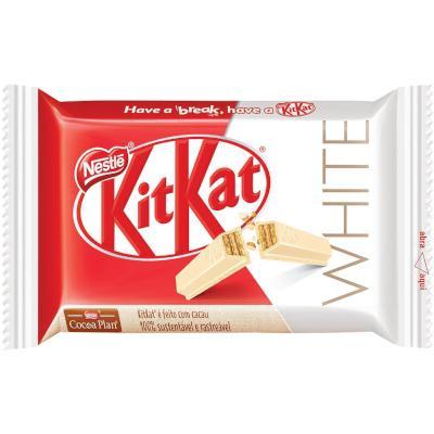 Chocolate Branco 41,5g Nestlé/KitKat  UN