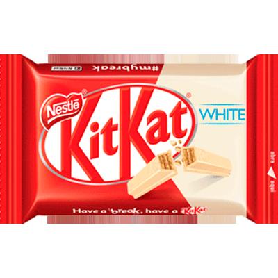 Chocolate Wafer Branco 41,5g Nestlé/Kit Kat  UN