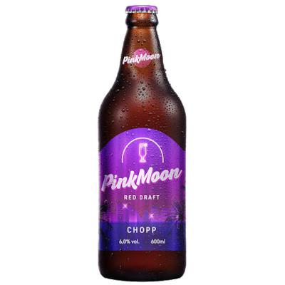 Chopp de vinho 600ml PINK MOON garrafa UN