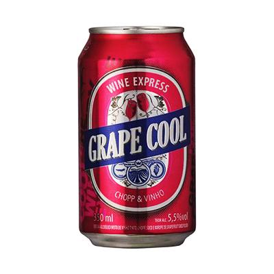 Chopp de Vinho  350ml Grape Cool lata UN