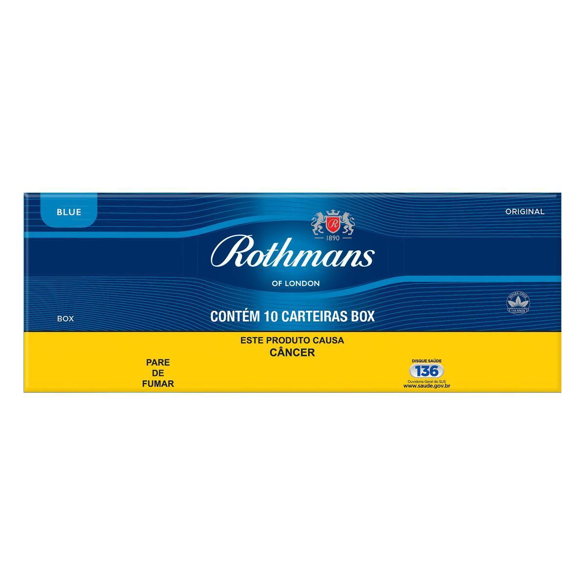 Cigarro Blue unidade Rothmans/Minister Box UN
