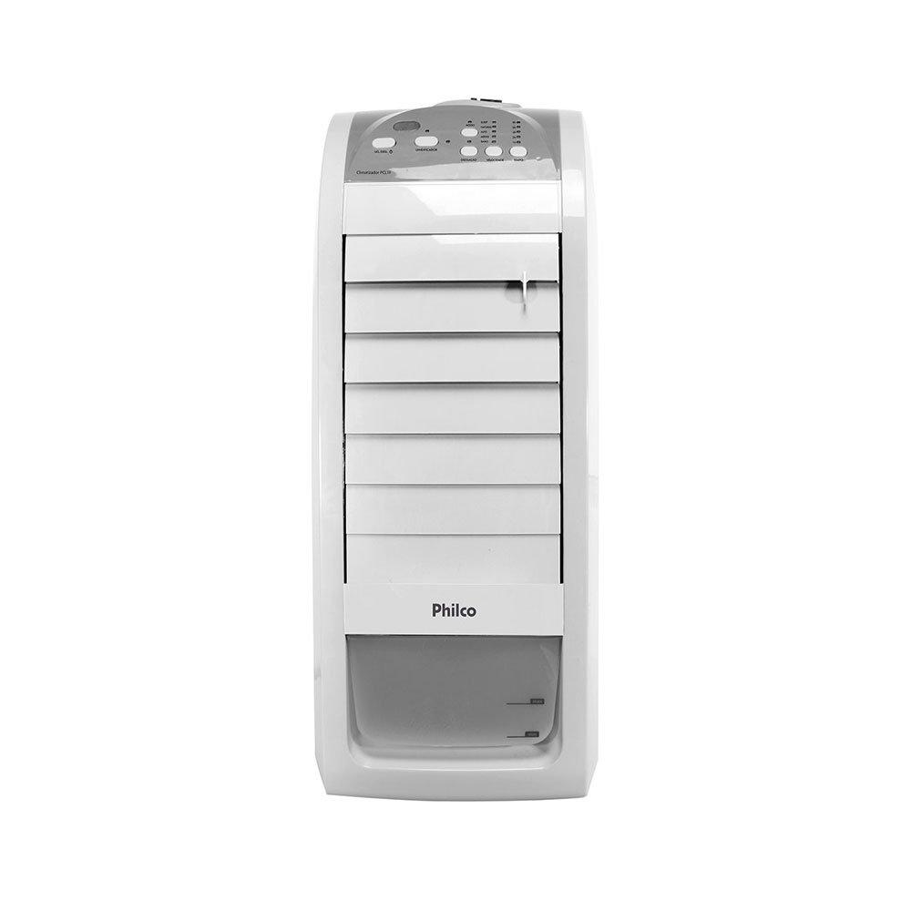 Climatizador de Ar Frio 3 Velocidades Ventila e Umidifica PCL1F Branco 220v unidade Philco  UN