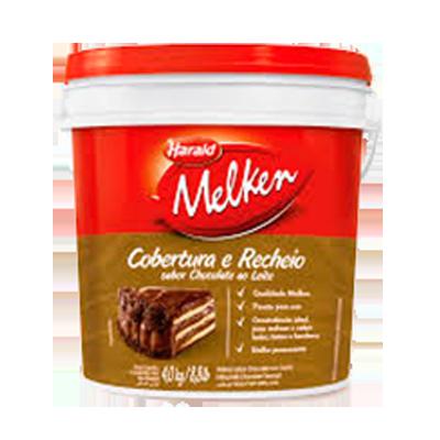 Cobertura e Recheio Chocolate ao Leite 4,5kg Harald/Melken Balde BD