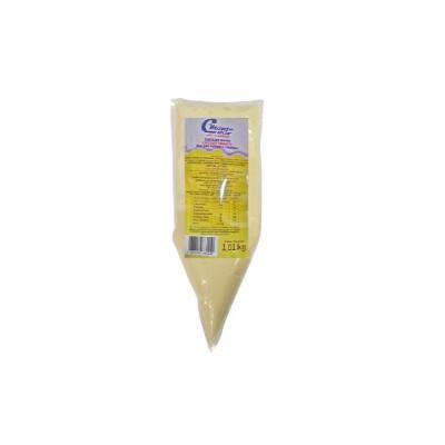 Cobertura e recheio Forneável Chocolate Branco 1kg Monte Carlo bisnaga BIS