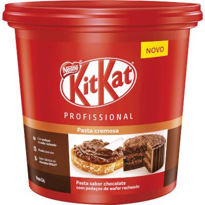 Cobertura e recheio sabor Chocolate 1,01kg Nestlé/Kit Kat balde UN