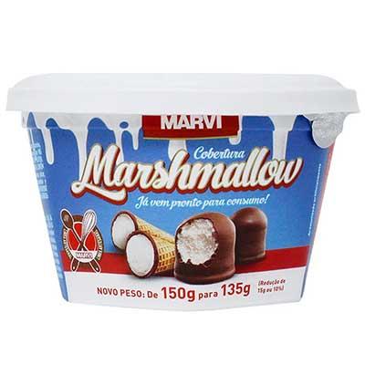 Cobertura marshmallow 135g Marvi pote UN