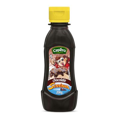 Cobertura para Sorvete Chocolate 200g Senninha/Cepêra squeeze UN