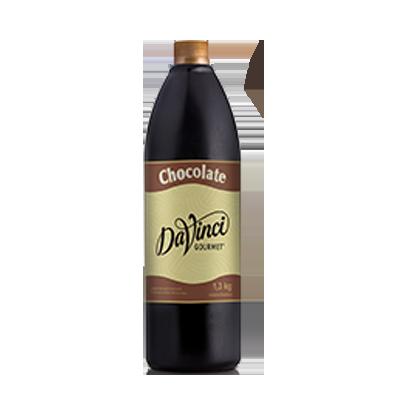 Cobertura para Sorvete Chocolate Gourmet 1,3kg Da Vinci squeeze UN