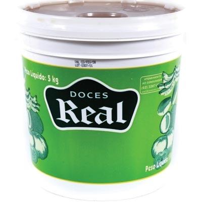 Cocada branca cremosa 5kg Real balde BD