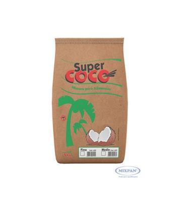 Coco Ralado integral 1kg Supercoco pacote PCT