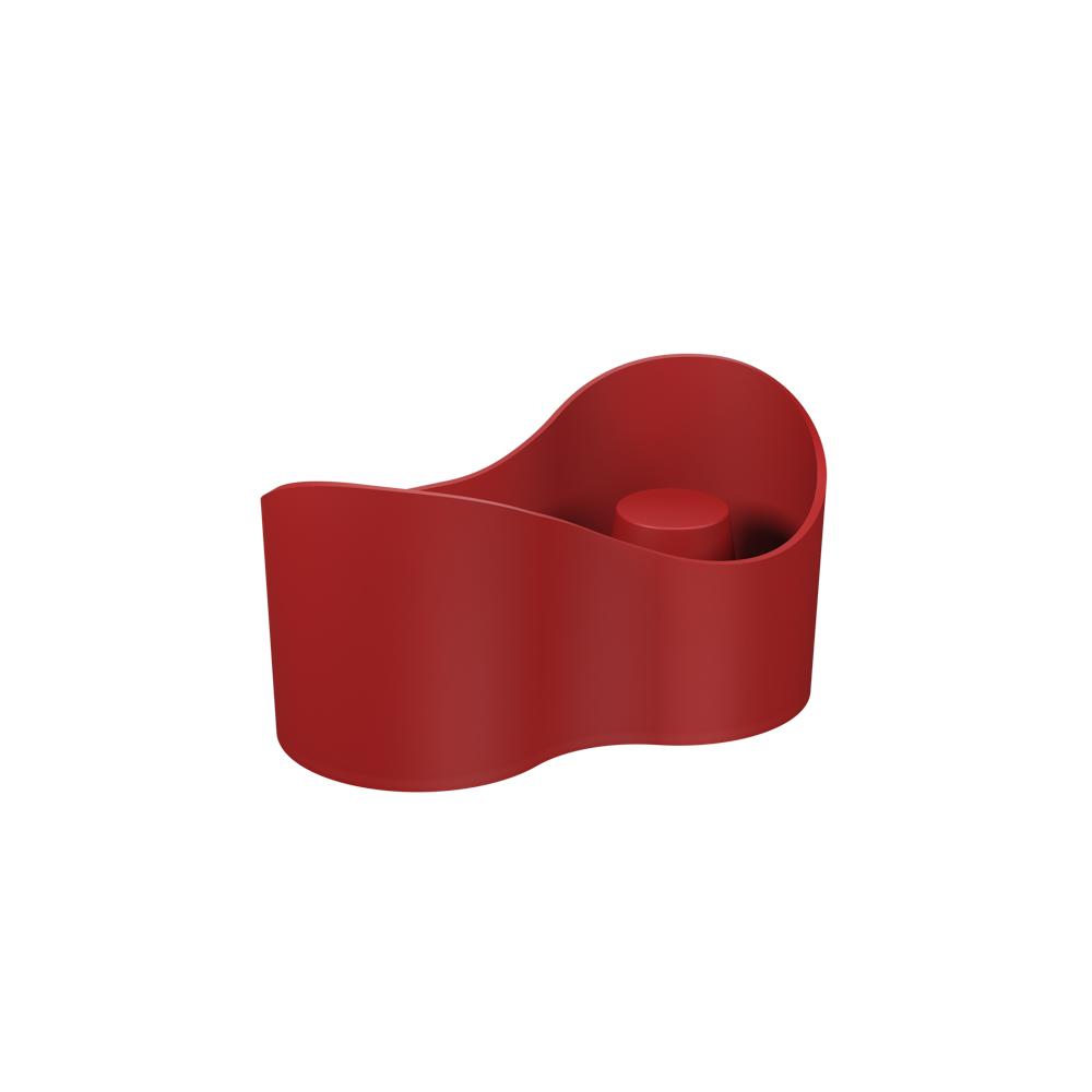 Coffee Place Casual Vermelho Bold Polipropileno(PP) 18,5x9,8x9,8 cm Coza  UN