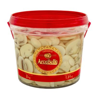 Cogumelo champignon fatiado 1,01kg ArcoBello balde BD