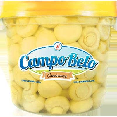 Cogumelo Champignon Inteiro 2kg Campo Belo balde BD