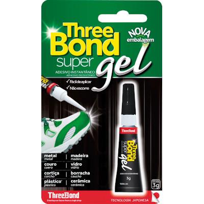 Cola Instantânea 3g Three Bond/Super Gel  UN