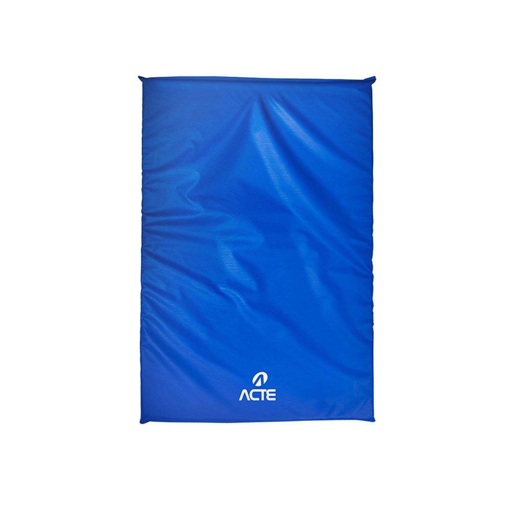 Colchonete em PVC e Poliéster T127 100x60cm Azul unidade Acte  UN