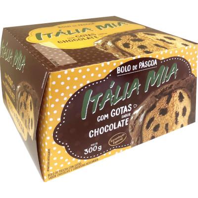 Colomba Pascal Gotas de Chocolate 300g Itália Mia caixa UN