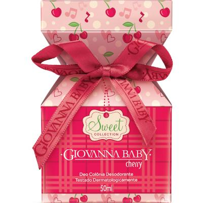 Colônia Cherry 50ml Giovanna Baby  UN