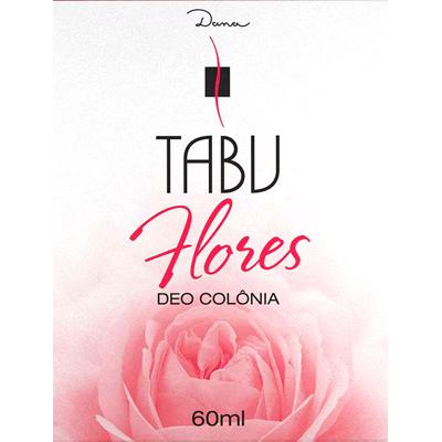 Colônia flores 60ml Tabu  UN