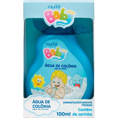 Colônia infantil azul 100ml Baby Muriel  UN