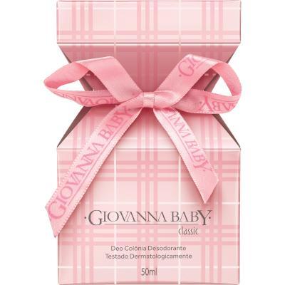 Colônia Rosa Classic 50ml Giovanna Baby  UN