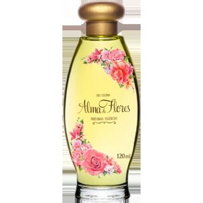 Colônia tradicional 120 ml Alma de Flores  UN