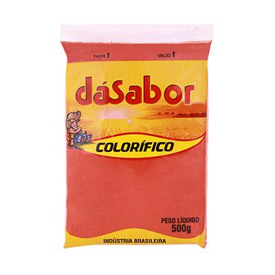 Colorau/Colorífico  500g DáSabor pacote PCT