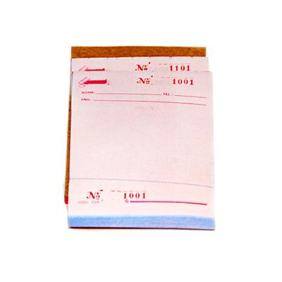 Comanda copiativa 20 blocos Diversas pacote com PCT