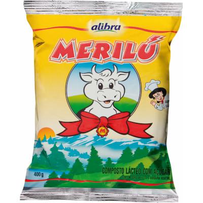 Composto Lácteo em Pó com Açúcar 400g Merilú pacote PCT