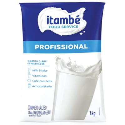Composto Lácteo em Pó Profissional 1kg Itambé pacote PCT