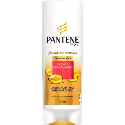 Condicionador Cachos Hidra-Vitaminados 175ml Pantene frasco UN