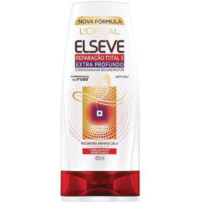 Condicionador extra profundo 400 ml Elseve/Reparação Total 5  UN