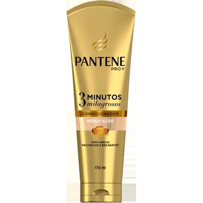 Condicionador Hidratação 170ml Pantene/3 Minutos Milagrosos frasco UN