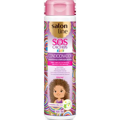 Condicionador Infantil S.O.S Kids 300ml Salon Line  UN